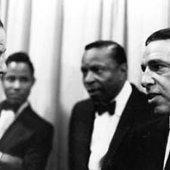 con Frank en 1960