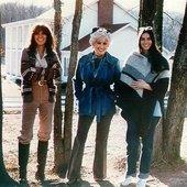 Linda Dolly Emmylou trio