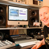 danny byrd in studio
