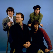 R.E.M. on 4/8/85 in Athens, Ga. (Photo by Paul Natkin)
