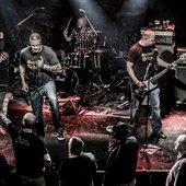 Razorblade live - pic bij Ted Gijsman