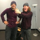 Rob Scallon with Taylor of Slipknot, Stone Sour