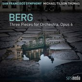 Berg Three Pieces for Orchestra, Op. 6 (1929 revision)