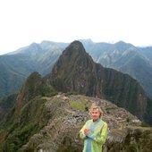 Aeoliah en Machu Picchu