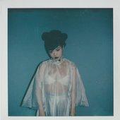 Polaroids from album cover shoot