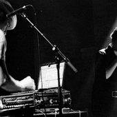 On stage w/ Stephanie Grisel