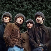 Uncropped Rubber Soul             Photo By Robert Freeman