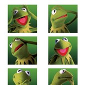 pop art -kermit