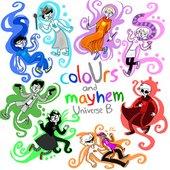 coloUrs and mayhem: Universe B