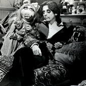 with Miss Piggy
