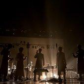 "Pantha Du Prince & The Bell Laboratory performing \""Elements of Light\"" at TodaysArt Festival in Den Haag 22. September."