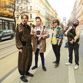 Bert and Friends on the street 2015