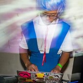 CDR on a Rei Ayanami cosplay