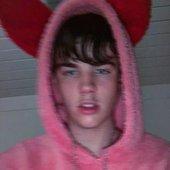 i put on my Bunny suittt<3