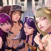 ♡ K/DA Girls ♡