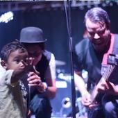 Live shot of La Obra De Marte in a Puerto Rico Festival