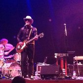 Daniel Lanois on May 21 2014 in Eindhoven, the Netherlands.