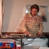 Wez G on the ones and twos at a private party in South Wales