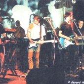 The UK Cody live at The Point, Oxford, UK, 1999. L - R: Joe Boulter, Steve Jefferis,…