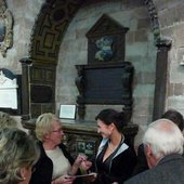 Autogrammstunde mit dem begeisterten Publikum in Worchester