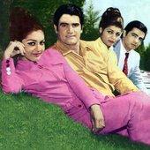Googoosh, Vigen, Ramesh, Aref