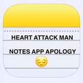 Notes App Apology - Single