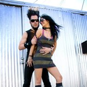 Wayne with wife 2