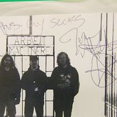 Picture Signed by Seth - ANAL CUNT line-up of the (Split with THE RAUNCHOUS BROTHERS) 2000