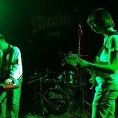 -RP- during show in Rock's Cafe in Ufa, Russia