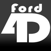 Ford4D Logo (HiddenGhost Variant)
