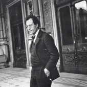 Mahler at the Vienna Court Opera, 1903.