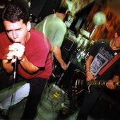 Live at Reconstruction Records, 1993 (Photo by Justine De Metrick)