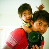 Hiroshi with Kaito