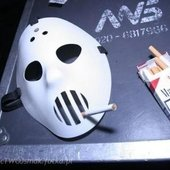 smoking mask xD :)