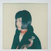 Polaroid from album cover shoot
