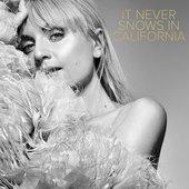 It Never Snows In California - Single