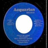 Reverend Harvey Gates record label...