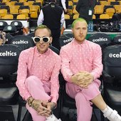 mansionz at the Boston Celtics x Chicago Bulls game