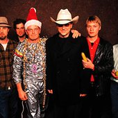 John, Vince, Robot Santa?, Todd, Xan and Gabe