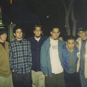 Linkin Park's first photograph together with Chester