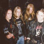 Blast from the past, one of the first photo sessions in Uppsala back in 1999. Left to right: Erik Danielsson, Christian Blom, Pelle Forsberg, Håkan Jonsson.