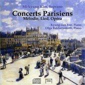Concerts Parisiens: Melodie, Lied, Opera