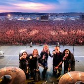 Wintersun at Rockharz Open Air, Ballenstedt, Germany, July 2019