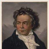 Beethoven in 1819: portrait by Ferdinand Schimon