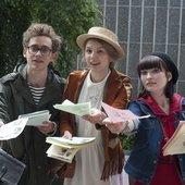 Emily Browning, Olly Alexander & Hannah Murray