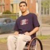 Drake ina got damn wheel chair