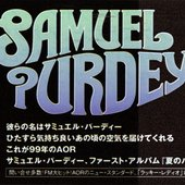 Samuel Purdey Musically Adrift Advert