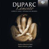 Duparc: Lamento Complete Songs
