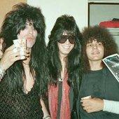 Nadir D'Priest, Rik Fox, Fred Coury