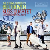 Beethoven: The String Quartets, Live from Suntory Hall, Tokyo, Vol. 2